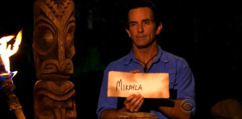 Survivor South Pacific Mikayla