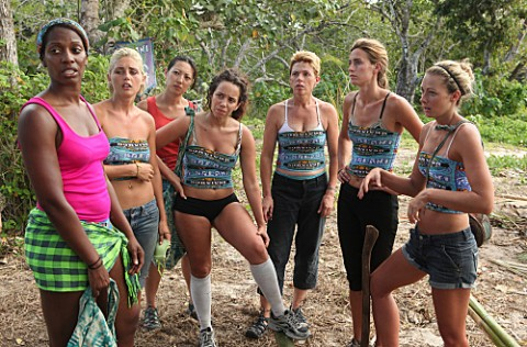 take long at all for the Survivor One World game to get dirty
