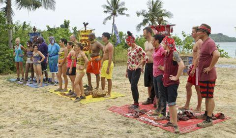 Survivor 2012 Philippines episode 1
