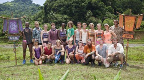 Survivor Caramoan cast