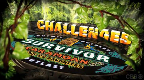 Survivor 2013 Caramoan Challenges