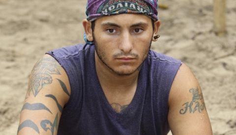 Brandon Hantz on Survivor