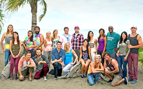 Survivor 2013 cast - Blood vs Water