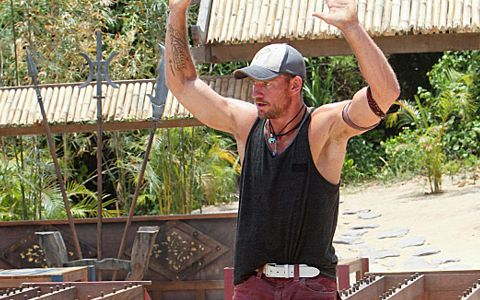 Brad Culpepper wins safety on Survivor 2013