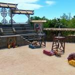 Redemption Island arena on Episode 12