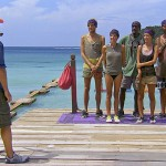 Jeff talks to the Survivor castaways