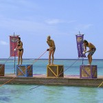Survivor castaways prepare for Immunity Challenge