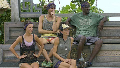 Final Four on Survivor Blood Vs Water