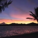 Survivor Cagayan beach at sunset