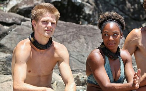 Spencer and Tasha on Survivor