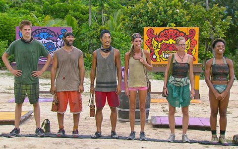 Castaways prepare for Survivor Reward Challenge