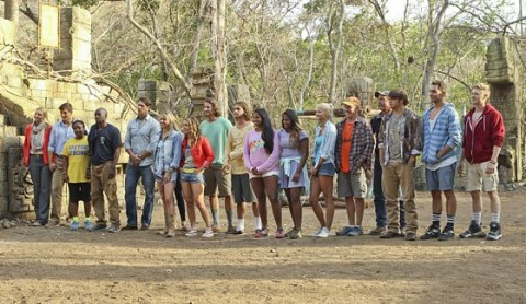 Survivor 2014 - Blood Vs Water castaways