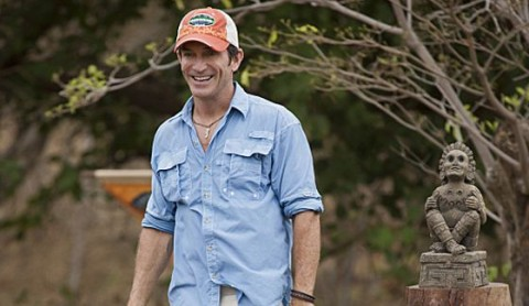 Jeff Probst hosts Survivor 2014 season premiere