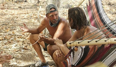 Keith and Drew talk strategy on Survivor