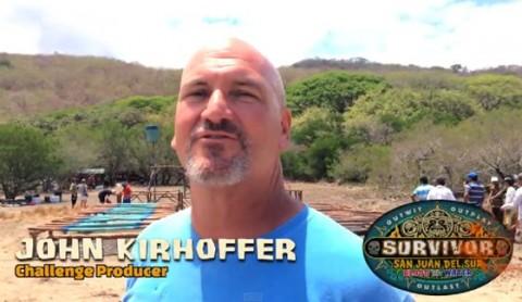 John Kirhoffer on Survivor 2014