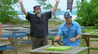 Dan Foley celebrates too soon on Survivor 2015
