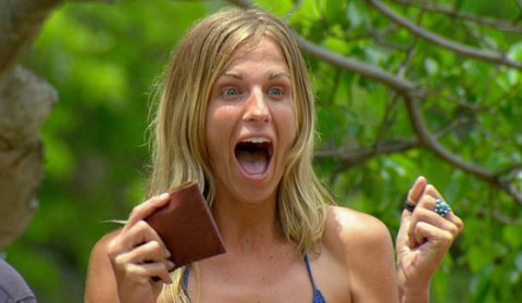 Sierra Thomas at the Survivor 2015 auction