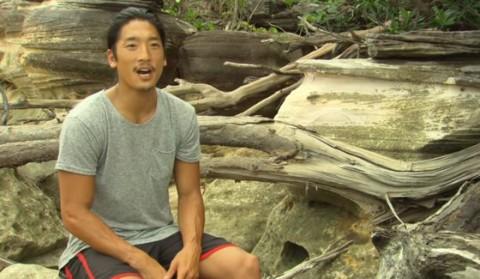 Woo Hwang on Survivor 2015