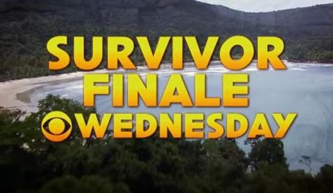 Survivor Finale on Wednesday