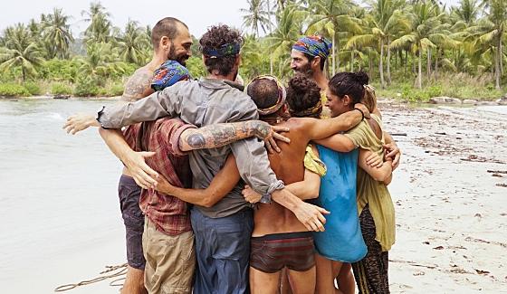 "Survivor 2016's merged tribe ""Dara"" on Kaoh Rong"