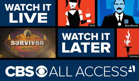 Survivor episodes on CBS All Access