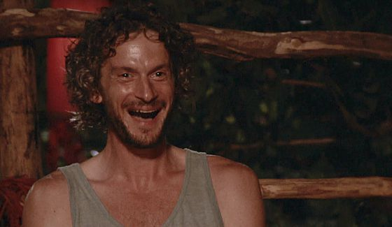 Neal enjoys the latest Survivor Tribal Council