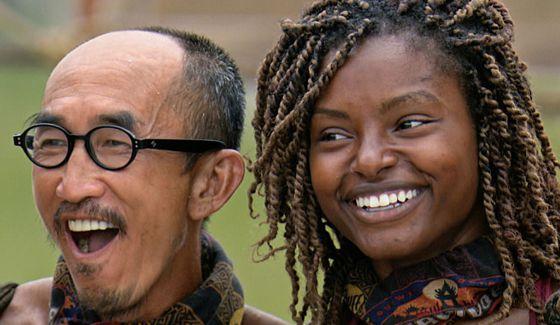 Tai and Cydney on Survivor Kaoh Rong