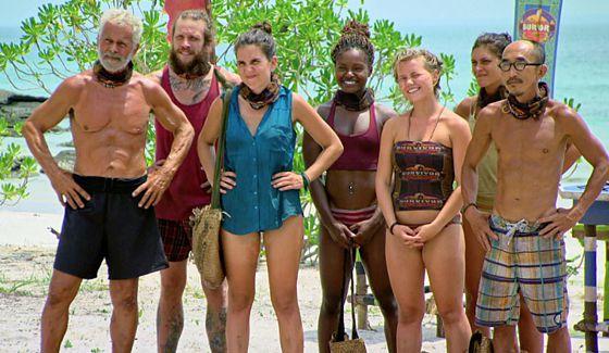 Dara tribe on Survivor Kaoh Rong in Week 11