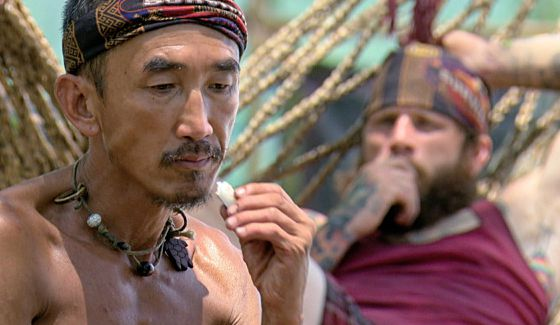 Tai considers his options this week on Survivor Kaoh Rong