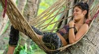 Michele gets ready for the next Survivor competition