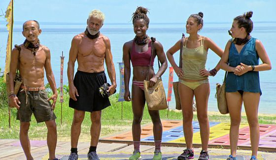Kaoh Rong tribe castaways on Survivor 2016