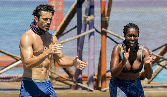 Survivor 2016 castaways Ken and CiCi