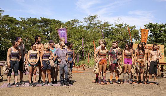 Survivor 2016 tribes on episode 03