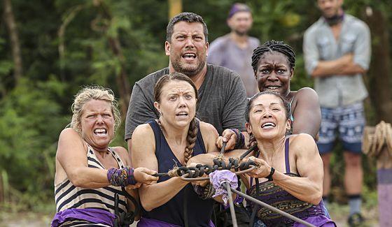 Gen X tribe struggles to win the Survivor challenge