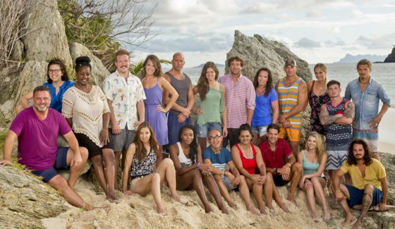 Survivor 2017 cast of Season 34