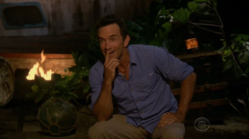 Jeff Probst at Survivor 2017 TC in Week 3